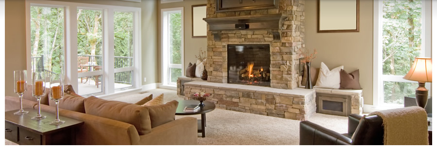 Madison, Wisconsin home for sale with fireplace