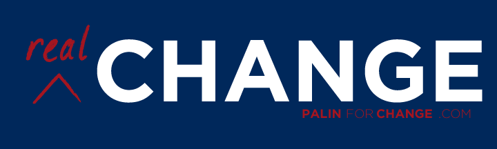 Palin Campaign Bumper Stickers